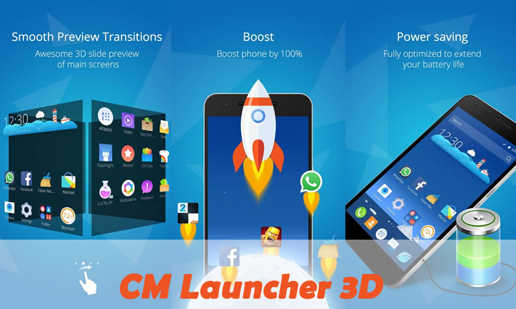 CM Launcher 3D Review