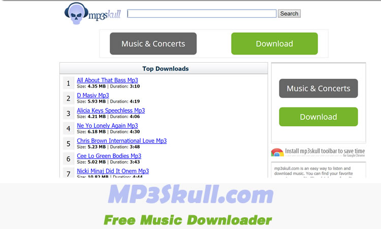 MP3skull Free Music Downloader