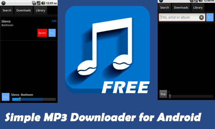 Simple MP3 Downloader for Android