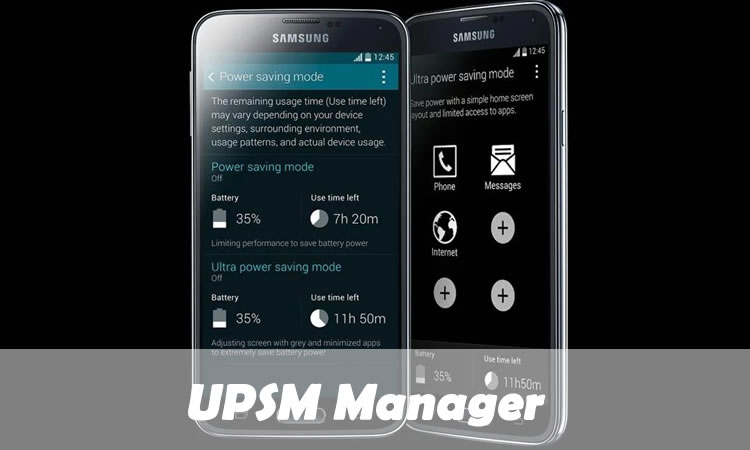 UPSM Manager
