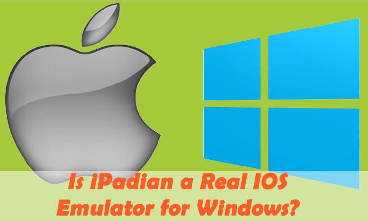 iPadian iOS Emulator for Windows PC