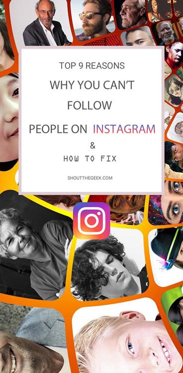 My Instagram Won't Let Me Follow Anyone