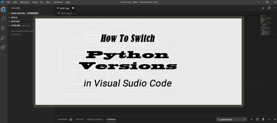 How To Switch Python Versions In Visual Studio Code