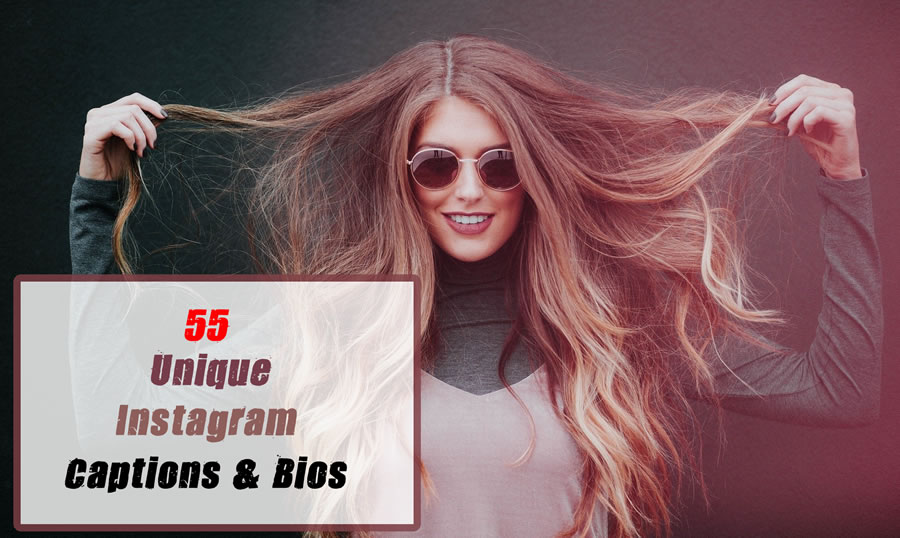55 Best Unique Girly Instagram Captions & Bios